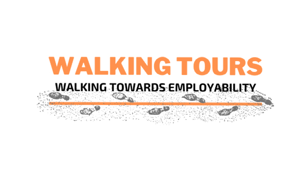 WALKING TOWARD LOGO-news