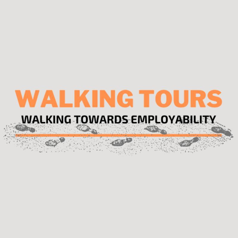 WALKING TOWARD LOGO-site